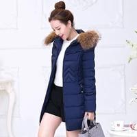 women jacket winter manteau femme hooded big fur collar jackets zipper coat parkas mujer cotton coats abrigos invierno yxr630 s