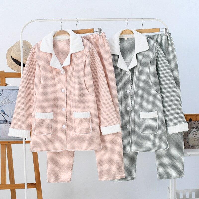 2019 nuevo estilo Otoño e Invierno capa de aire ropa de aislamiento Otoño e Invierno enfermería postparto Baoma ropa de aislamiento