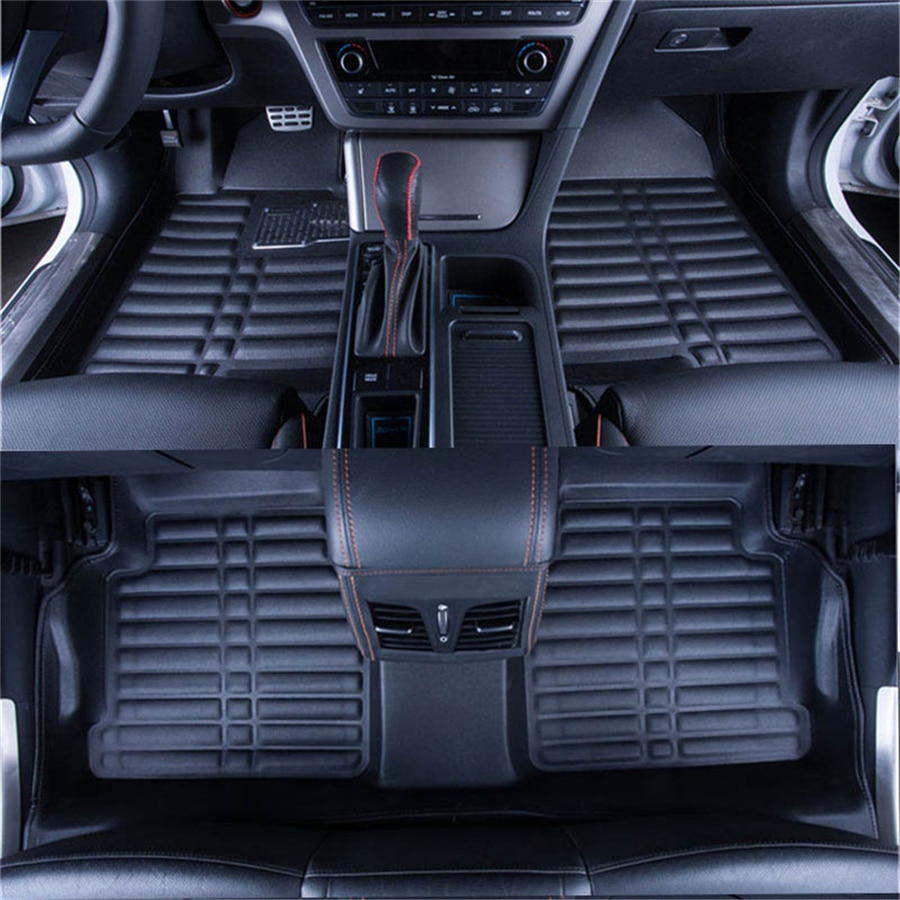 3D Car Floor mat For Skoda Rapid (2013-2019) 2014-15-16-17-2018 Custom-made Auto Internail Car Foot mat Car Styling Protector