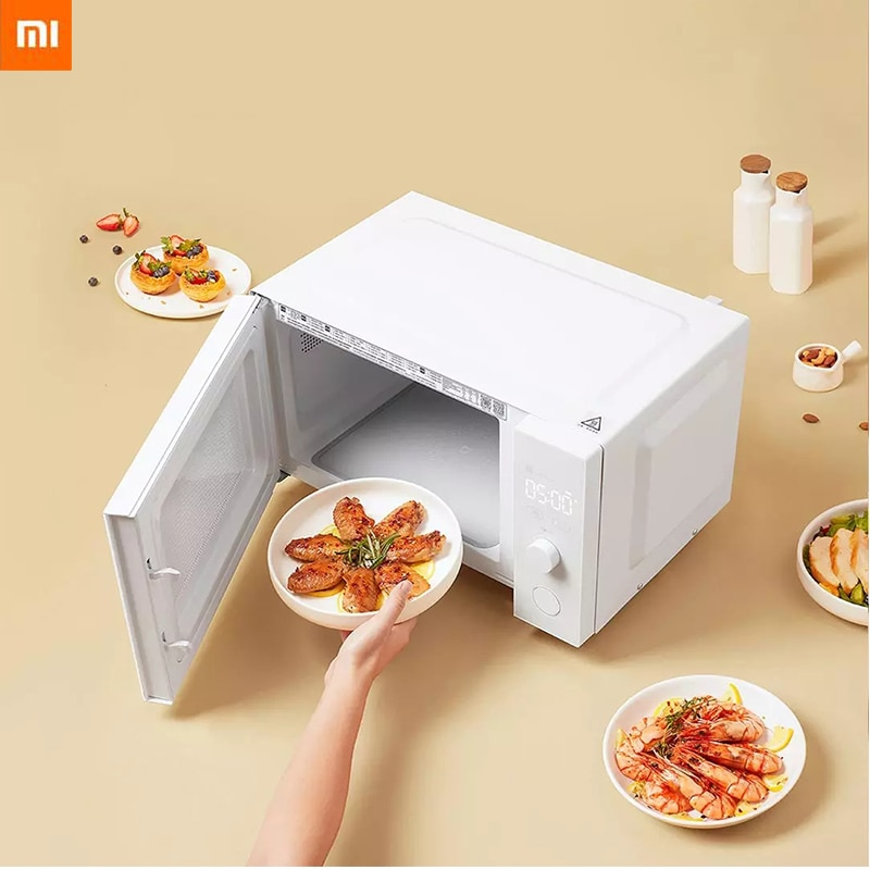 Micro-máquina de Cozimento Tubo de Quartzo Estoque Xiaomi Mijia Inteligente 23l Grande Volume Placa Microcristalina Aquecimento Grill App