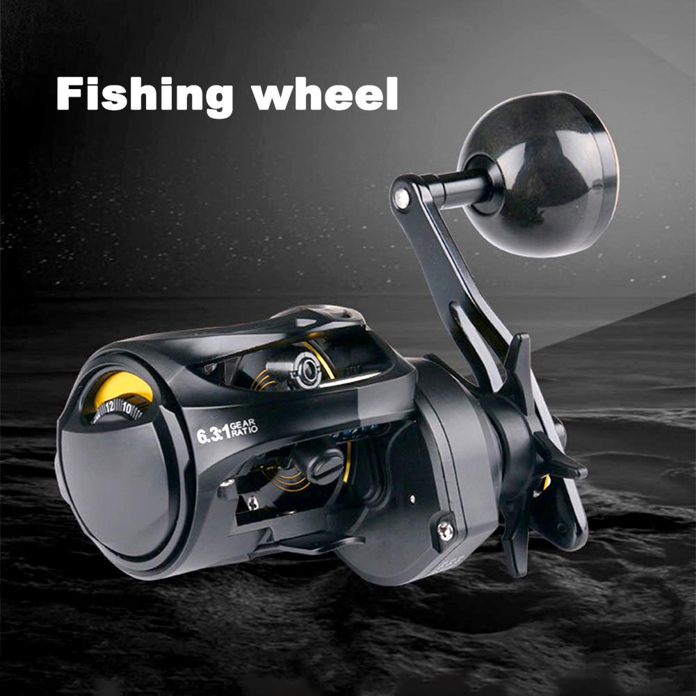 Durable Saltwater Fishing Spinning Drag High Stability Fishing Drag Long Way Casting for Catching Fish enlarge