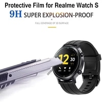 for realme watch s smart watch 2 5d 9h screen clear full coverage protector film anti scratch protective glass films accessories