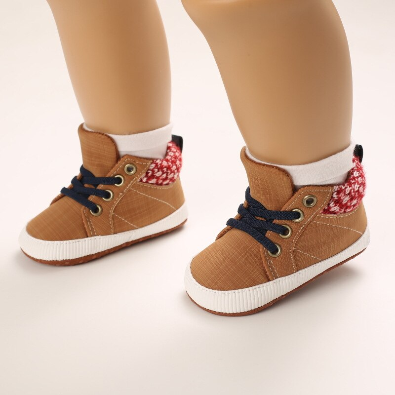 New Baby Shoes For Boys Soft Shoes 2021 Baby Girl Sneakers Non-slip Toddler Newborn Shoes First Walk