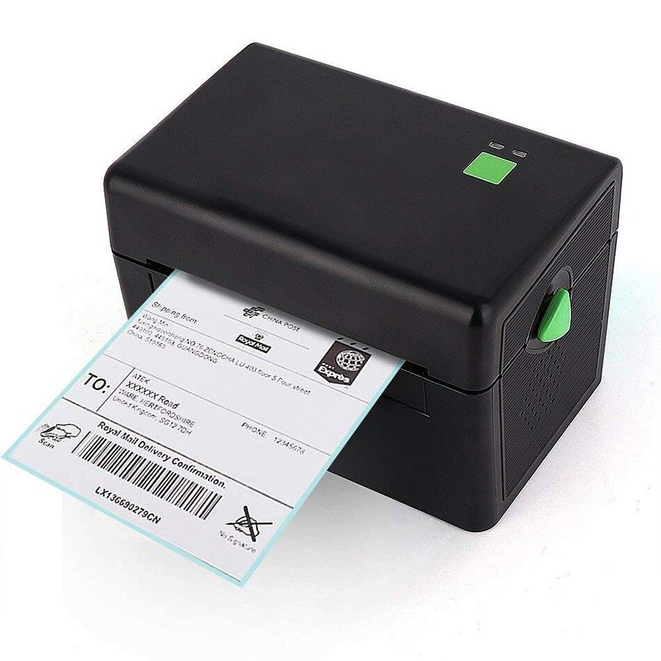 4 pulgadas térmica impresora de código de barras de la impresora de la etiqueta de envío con Amazon Ebay Etsy Shopify 4 × 6 envío etiqueta impresora