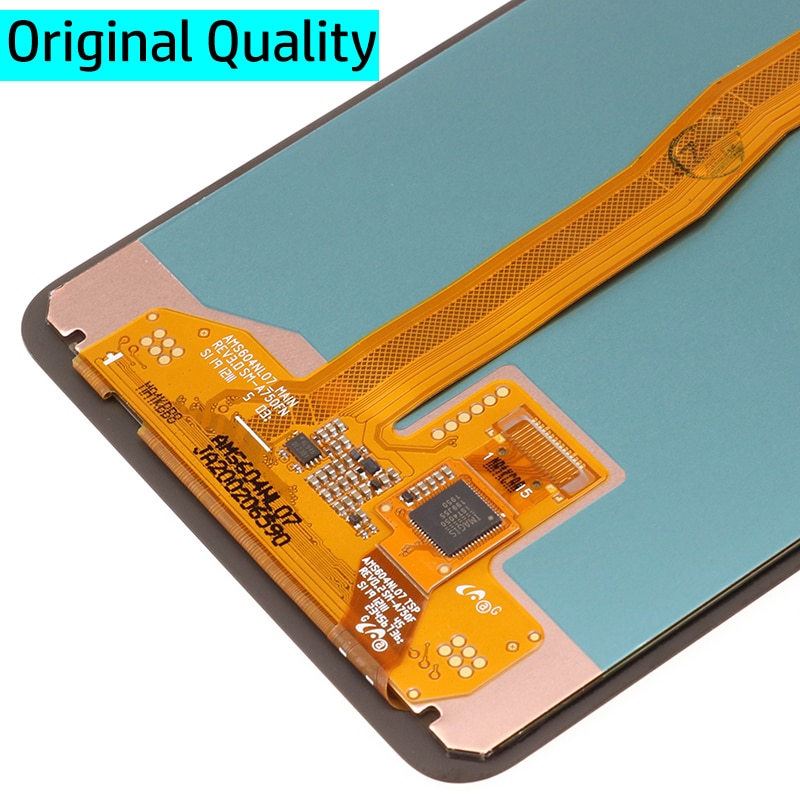 6.0'' Super AMOLED LCD For Samsung Galaxy A7 2018 A750 SM-A750F A750F LCD Display With Touch Screen Assembly Replacement Part enlarge