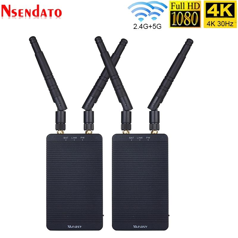 Sistema de transmisión inalámbrica 4K de 200M, receptor de vídeo HD de imagen, 650ft HDMI 1080P 30Hz para cámaras SLR sin espejo Gimbal