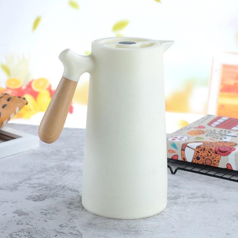 1L سعة كبيرة الترمس الشمال العزل الحراري غلاية المنزلية العزل الحراري وعاء الزجاج بطانة الترمس زجاجة الماء الساخن