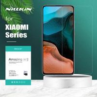Nillkin для Xiaomi Poco X3 NFC F3 M3 Mi 10 10T 9 Lite 9T Pro 5G Защитная пленка для экрана из закаленного стекла Защитная пленка для Xiaomi Redmi Примечание 10 10s 9 8 7 Pro