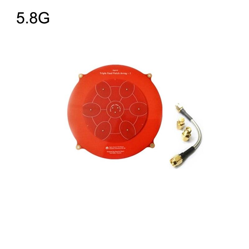 Antena de transmisión de imagen 1 Uds 5,8G 14dBi Pagoda antenas de largo alcance más allá de la línea de visión micromatriz telemetría para Dron de juguete RC