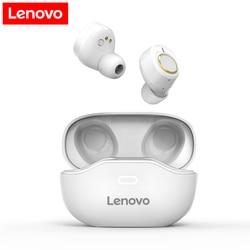 Lenovo x9/x18 fone de ouvido sem fio mini esportes fones de ouvido bluetooth 5.0 in-ear fones de controle de toque com microfone caso de carregamento