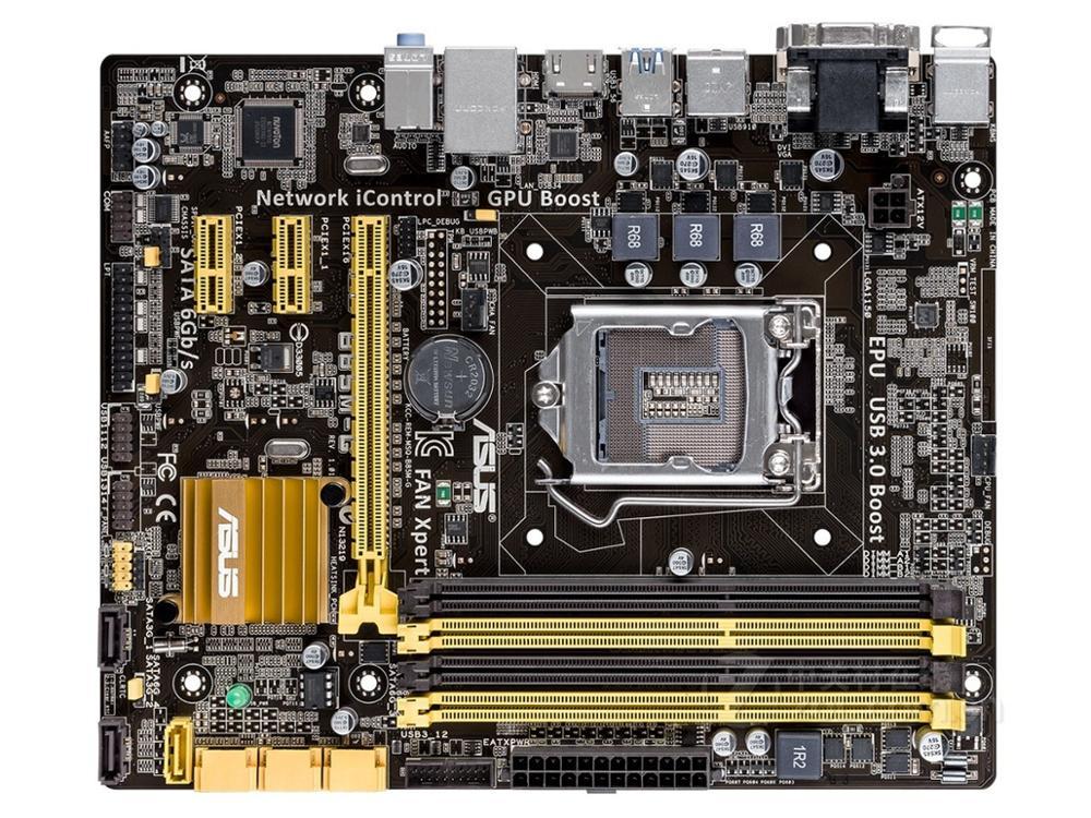 ASUS Used LGA1150 B85M-G Motherboard M-ATX  B85M DDR3 For Intel B85 32GB Desktop Mainboard USB3 SATA3