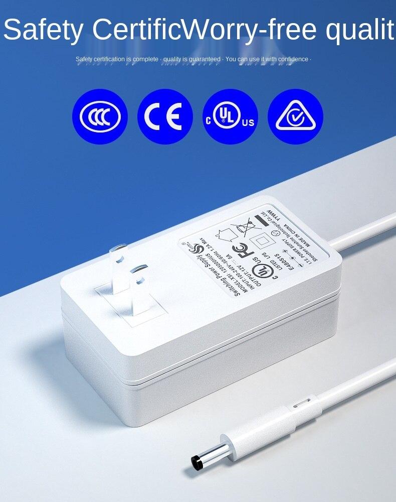 12v5a الحائط محول الطاقة الأمريكية القياسية شاشة LED شاشة الكريستال السائل مصدر الشاشة مهايئ طاقة شامل