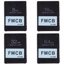Bitfunx FMCB carte McBoot gratuite v1.953 pour SOny PS2 Playstaton2 8 mo/16 mo/32 mo/64 mo carte démarrage de la mémoire OPL U0P3