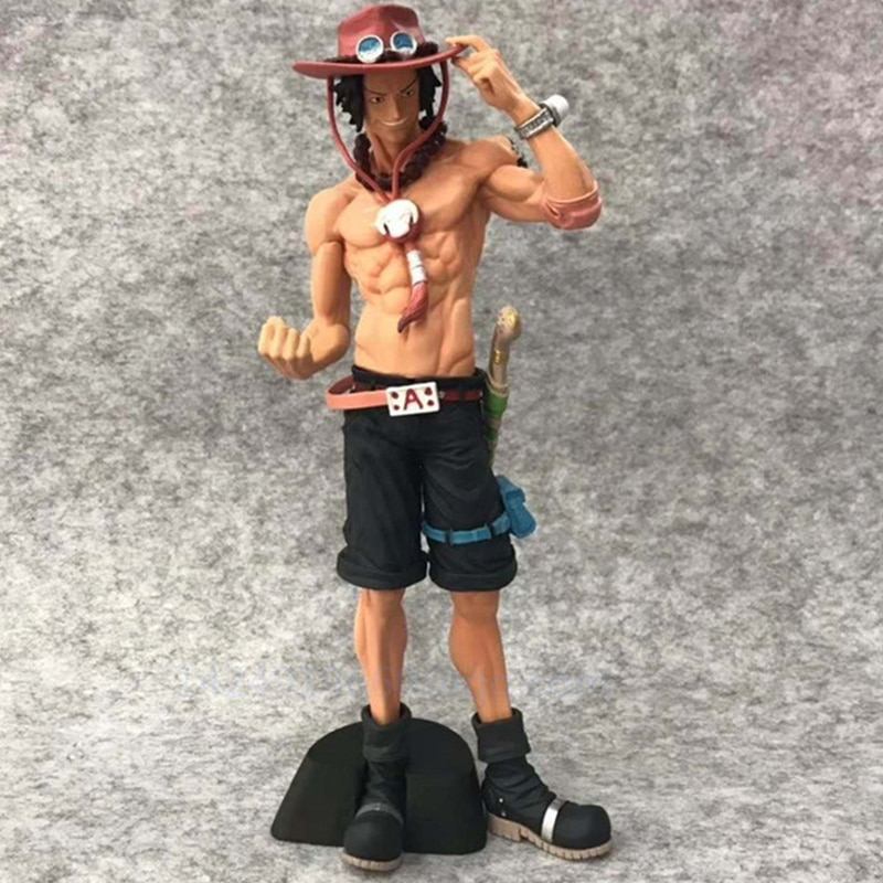 EINEM STÜCK Alten Feind Whitebeard Pirates Puma D. Ace Edward Newgate Gol D Roger PVC Action Sammeln Modell Statue Spielzeug g763