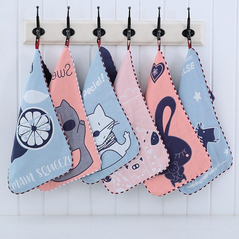 100% Cotton baby towel muslin cotton face wash handkerchief saliva cloth breastfeeding high quality towel 25*50cm baby stuff