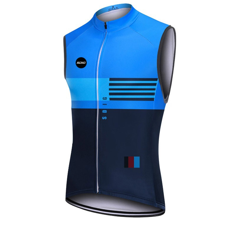 SDIG cycling vest 2021 Mtb Bike Bicycle windproof repellent Vest Sleeveless Orange bike clothing chaleco ciclismo reflectan