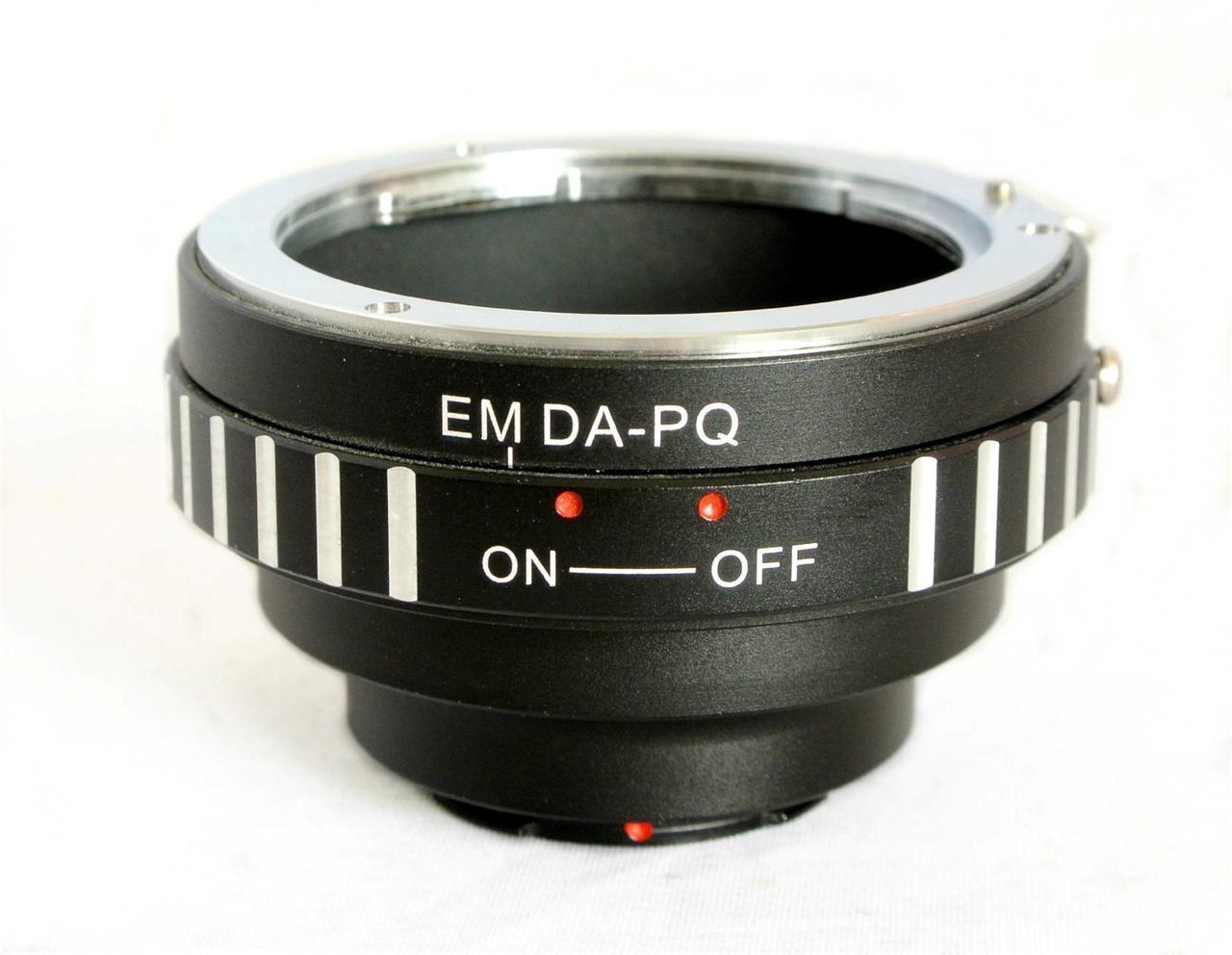 Anillo adaptador de lente DA-PQ Pentax DA para cámara Pentax Q P/Q PQ Q10 Q7 Q-S1