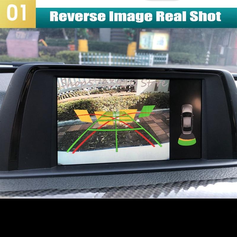 Front & Rear Camera For BMW 1 2 3 4 5 6 7 series X1 X3/ X4/ X5/ X6 EVO 2018 2019 2020 Original Screen Reversing upgrad interface