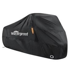 Couverture de vélo 210T moto couverture étanche étanche à la poussière Protection UV