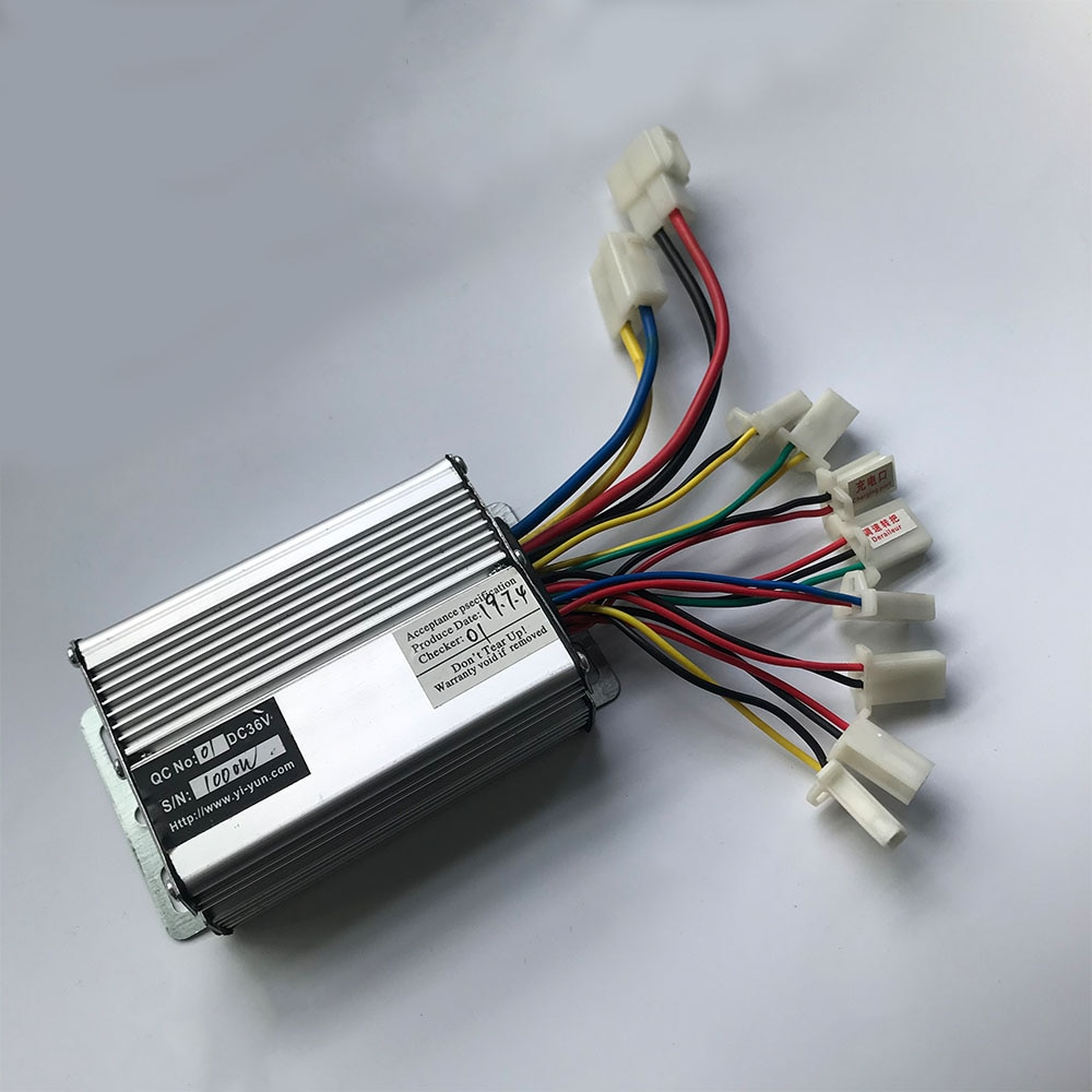 36V 48V 1000W 30A DC Brush Motor Controller Electric Bike Controller Speed Controller YK33 Brushed Motor Electric Bicycle Parts