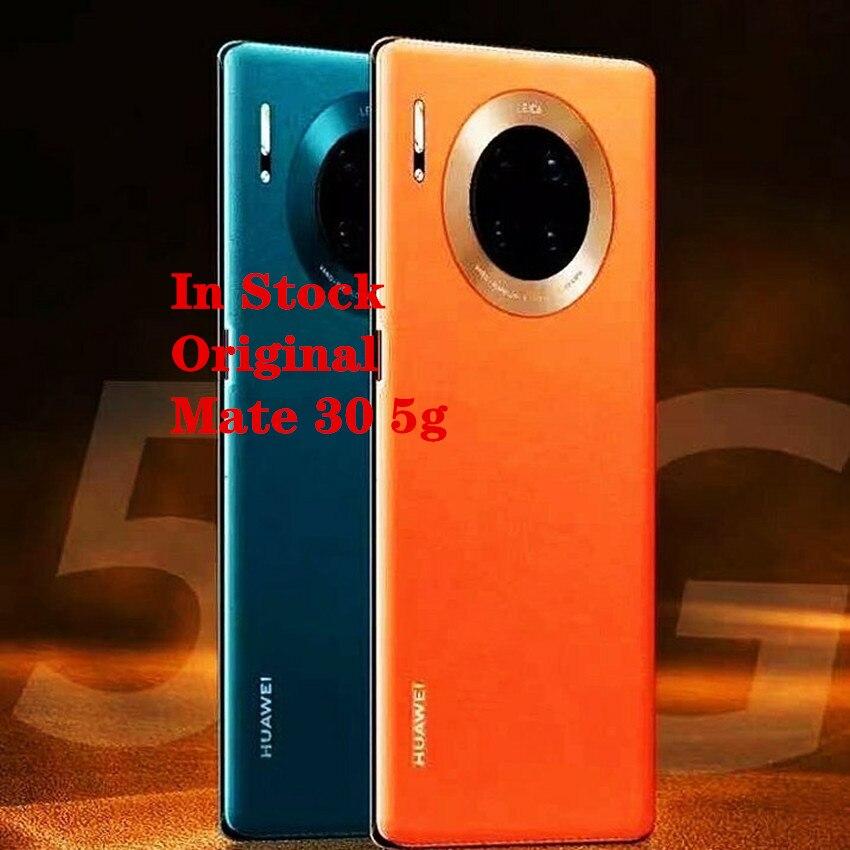 """6.62 """"novo original huawei companheiro 30 5g smartphone 8 gb ram 256 gb rom android 10.0 kirin 990 40.0mp 40 w super carregador ir qi"""
