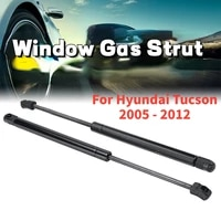 2pcs strut bars car rear window glass gas spring shock lift strut struts support bar rod sg367011 for hyundai tucson 2005 2012