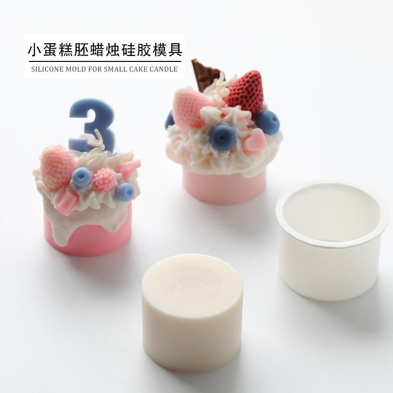 Kleine kuchen embryo form MJ01 kuchen glasur creme dekoration kerze form aroma kerze form