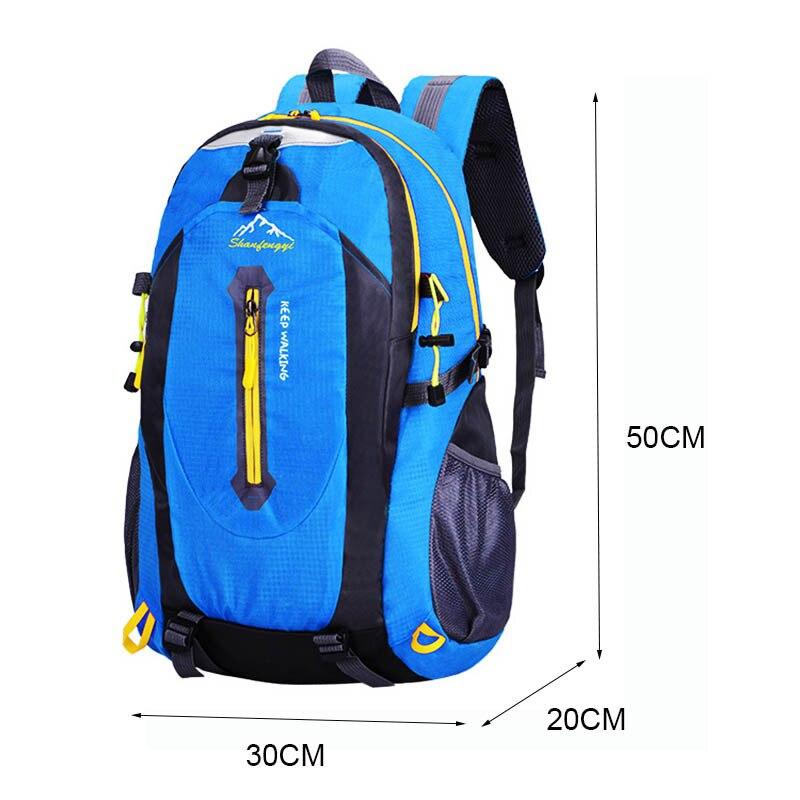 Рюкзак, сумки, сумки для трекинга, рюкзак, вместительный мужской рюкзак из ткани Оксфорд, мужской большой водонепроницаемый дорожный рюкзак...