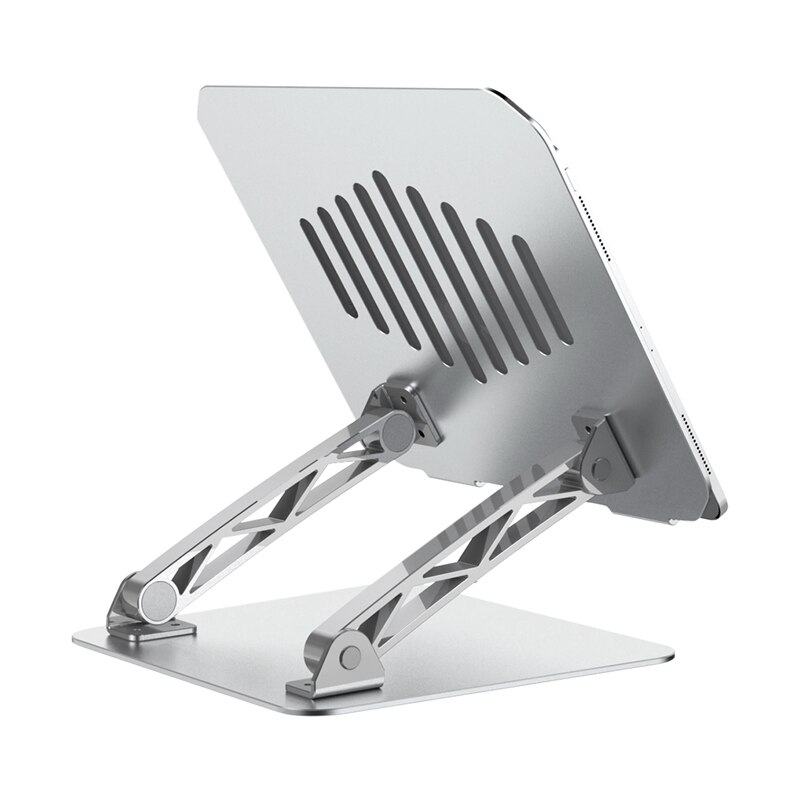 حامل كمبيوتر محمول متعدد الزوايا ، حامل قابل للتعديل ، متوافق مع الكمبيوتر المحمول والأجهزة اللوحية