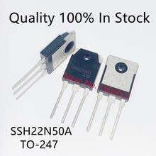 Send free 20PCS  Field effect transistor SSH22N50A 22N50A   TO-3P 500V 22A   N channel