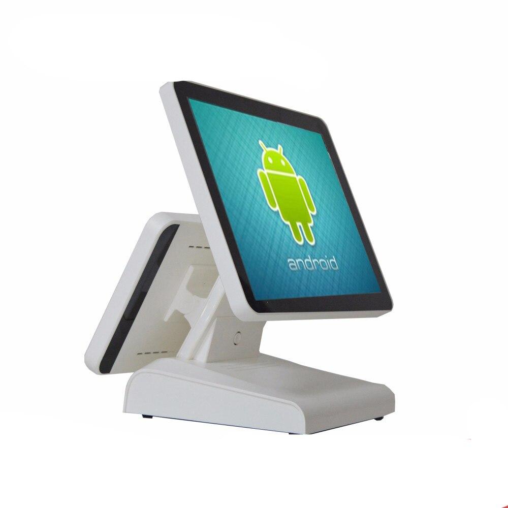 POS نقطة بيع أندرويد 15 بوصة الكل في واحد نظام نقطة أمين الصندوق تسجيل للبيع