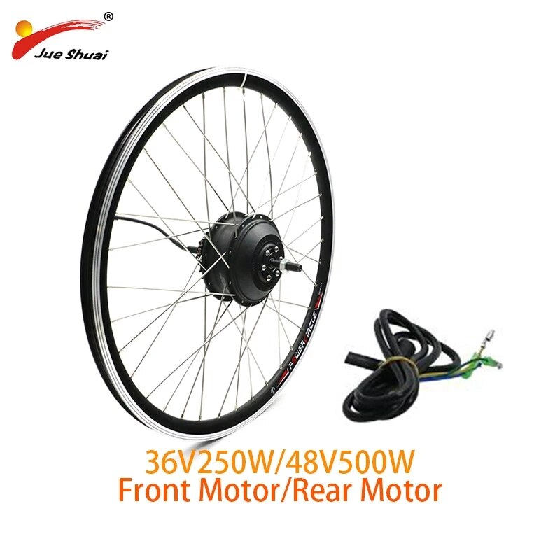 Kit Ebike Kit de conversión de bicicleta eléctrica 36V 250W 48V 350W...