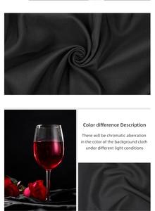 Image 5 - Черный, белый цвет зеленый синий и красный цвета Цвет хлопковый текстиль муслин фото фоны фотостудия Экран фон хромакей ткань
