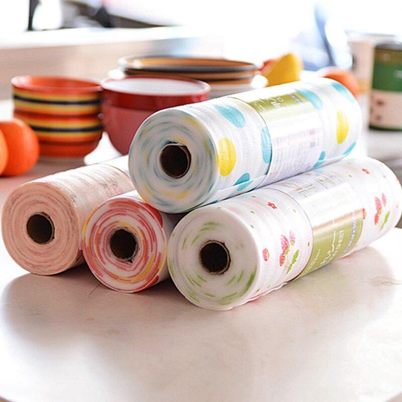 1pc PET Printed Wallpaper Waterproof Drawer Paper Colorful Mat Wardrobe Kitchen Cabinet Pad For All Purpose Multi Color Random