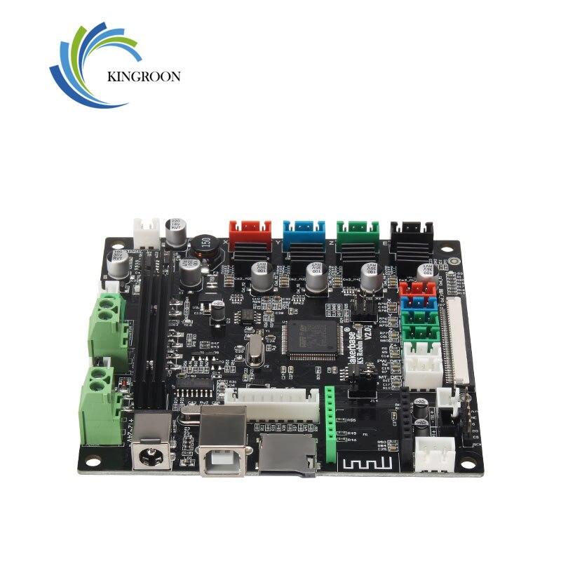 KingRoon MKS Robin MINI STM32 A4988 RAM 32bit Robin controlador placa base para impresora 3D KP3, Ultimaker100 * 105mm