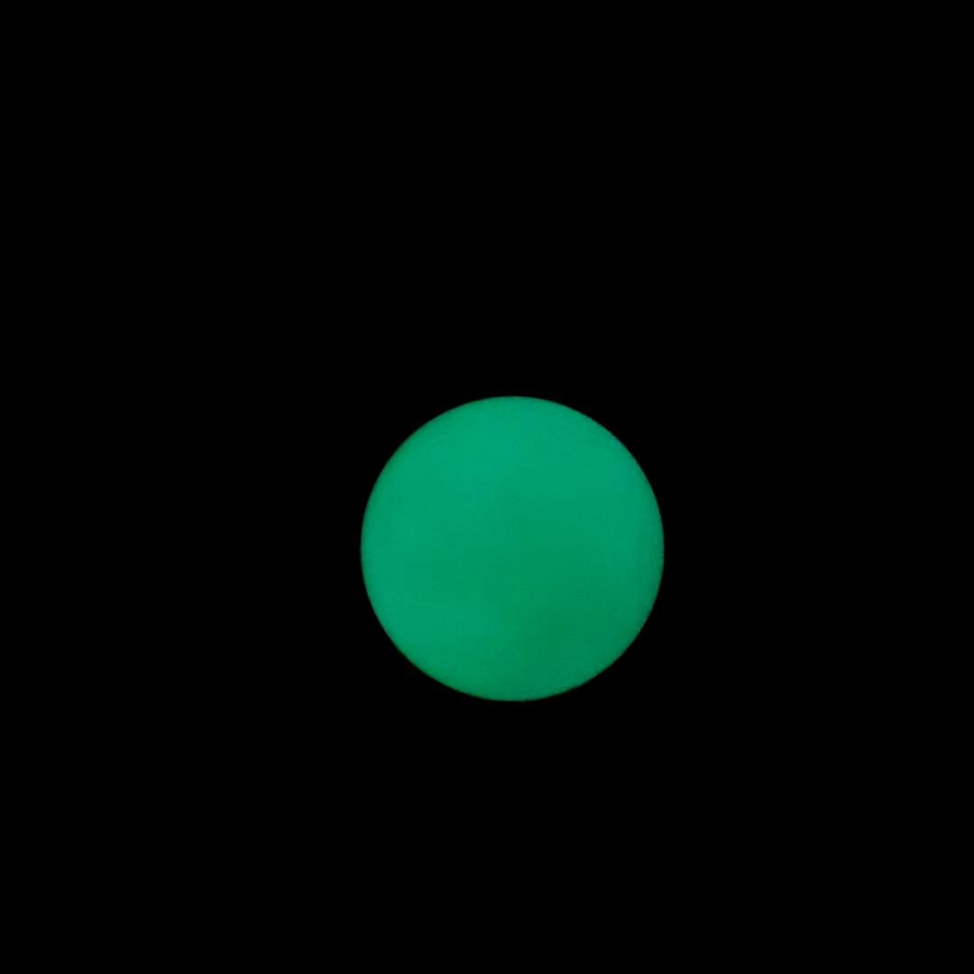 Natural luminous stone glowing green jade ball fitness ball for health natural jadeite jade  jewelry gym ball loose gemstones 45
