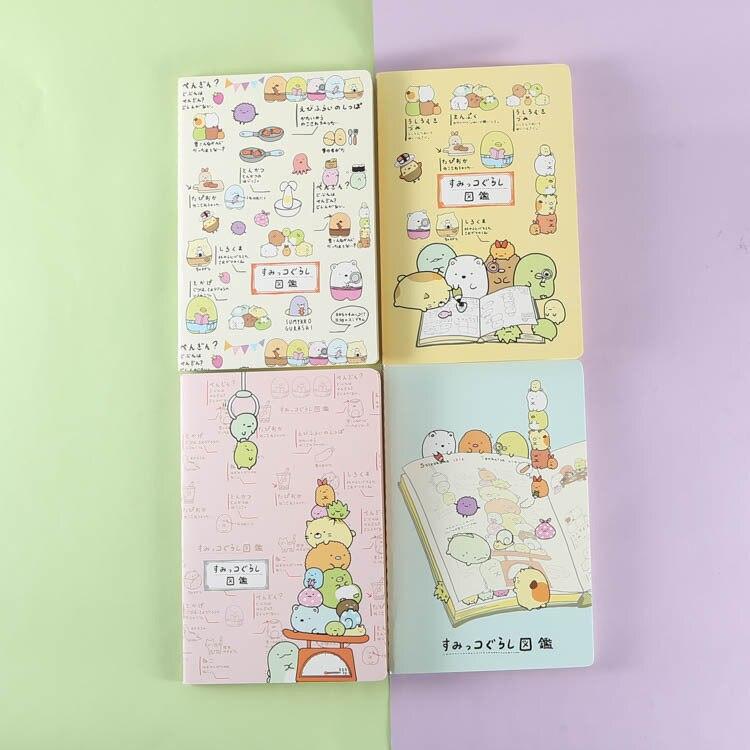 Cuaderno de salón de Japón 48% suave copia de la tarea de dibujos animados diy libro de mano WJ01