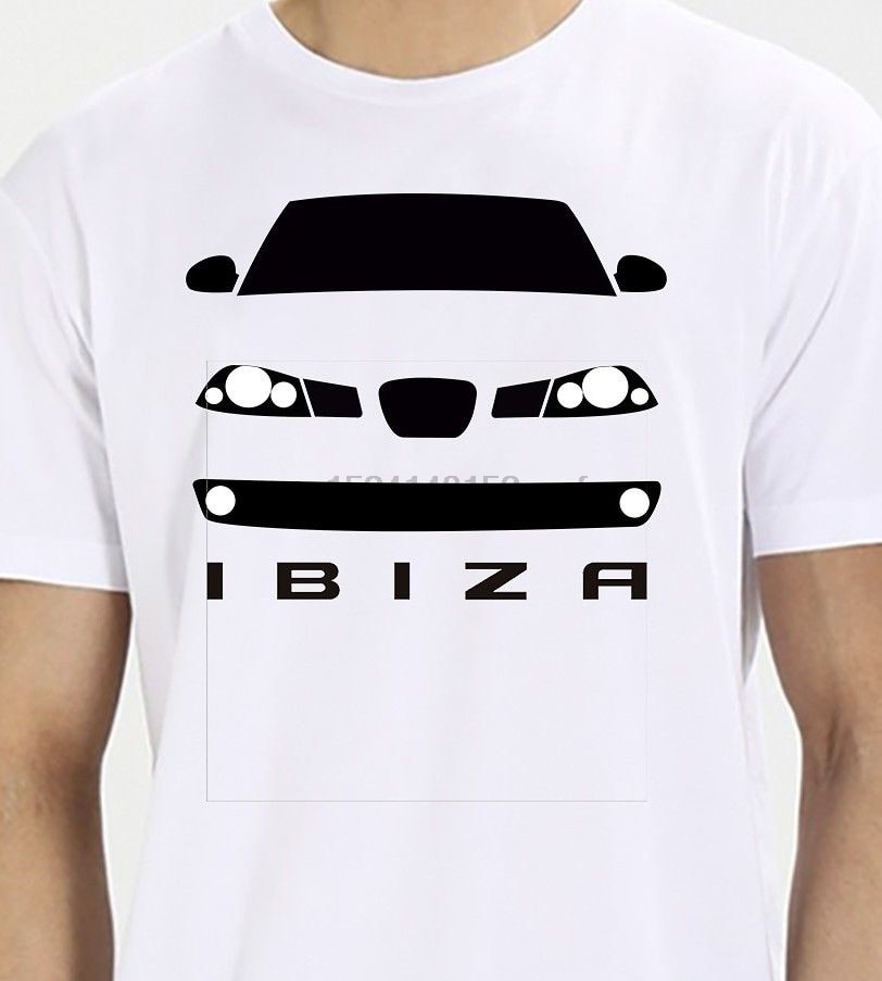 2018 moda verano Camiseta Hombre Seat Ibiza Mk3 6l Tees pantalón corto Casual manga