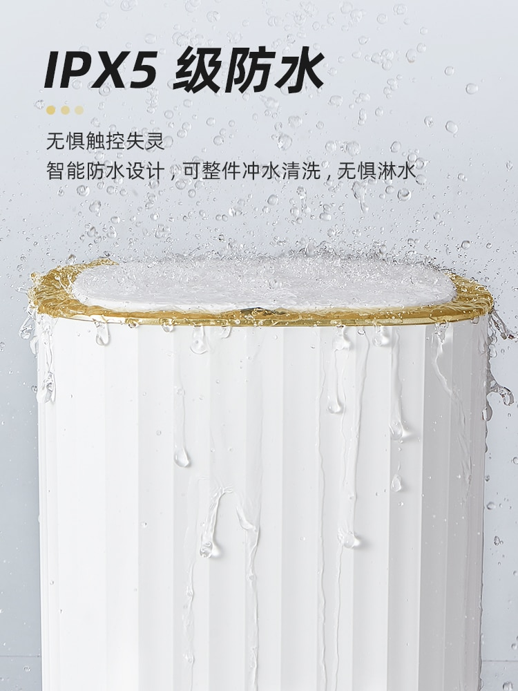 Luxury Smart Automatic Trash Can Large Capacity Living Room Creative Waste Bins Bathroom Cubo Basura Household Products DG50WB enlarge