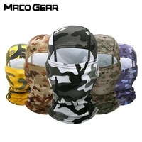 tactical camouflage balaclava full face mask army cs war game hunting sports cycling scarf military multicam helmet liner cap