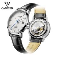 CADISEN 2019 New Men's Watches Top Brand Luxury Wristwatch Mens Automatic Mechanical Watch Men MIYOTA 9015 Movement montre homme