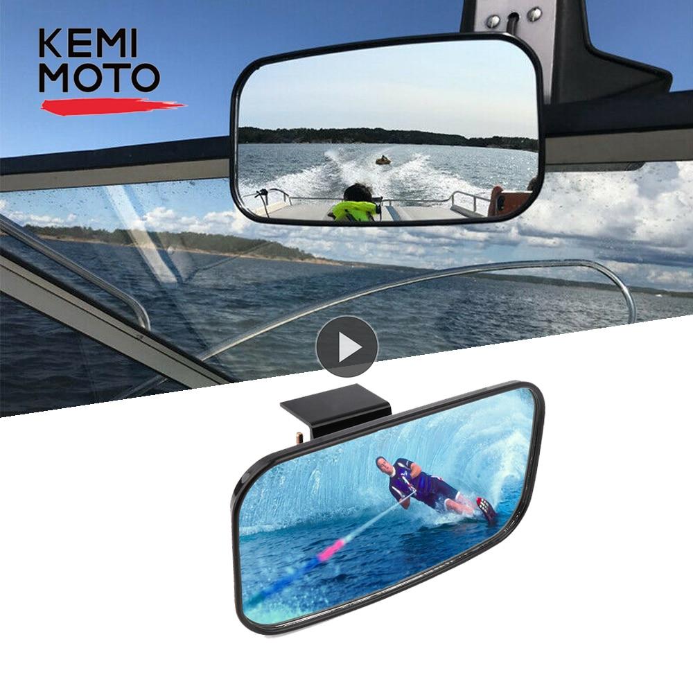 Universal Marine Rear view Mirror for Jet Ski Boat Watersport Personal Watercraft PWC Surfing Mirror Boat Accessories Marine