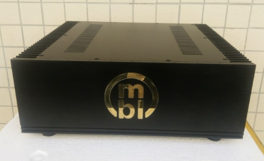Chasis de amplificador de aluminio MBL/carcasa de preamplificador/carcasa AMP/caja DIY (430*155*413mm)