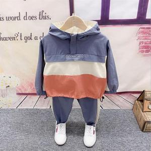 Children Boys Clothes Autumn Kids Baby Boys hoodie + Pants Outfits Set 2pcs suit baby boy clothes set 2-6year
