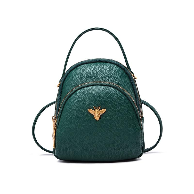 Nuevo diseño de mochila de hombro cruzada de abeja para mujer, mochilas escolares para adolescentes, bolsas de compras casuales para fines especiales gi