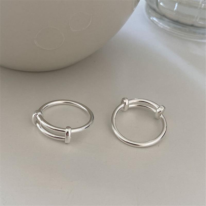 Блестящие-однотонные-кольца-для-женщин-из-настоящего-стерлингового-серебра-925-пробы-модные-женские-регулируемые-кольца