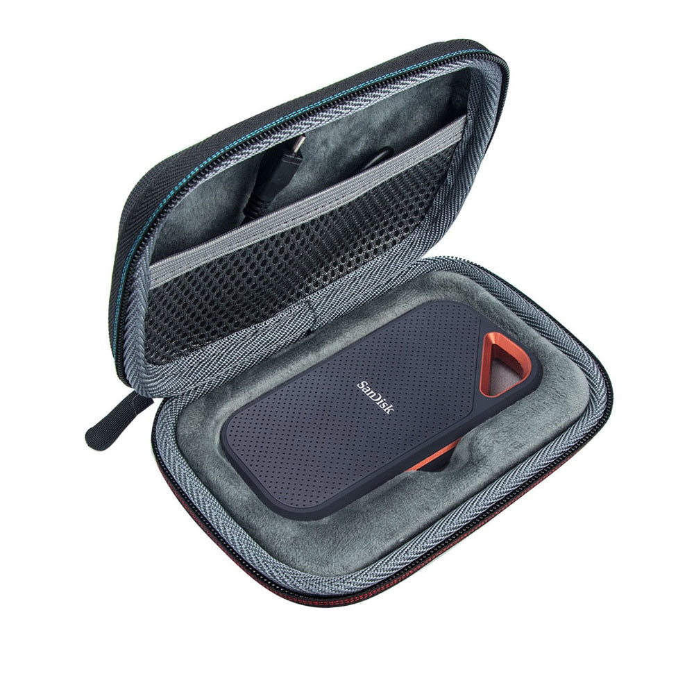 Hard Case Compatible for SanDisk 500GB/250GB/1TB/2TB Extreme Portable SSD