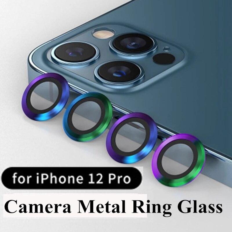 Крышка объектива камеры для iPhone 12 Pro Max полное покрытие камера металлическое кольцо стекло для iPhone 11 12Pro Max mini 12pro крышка объектива Защитные стёкла и плёнки для телефонов      АлиЭкспресс