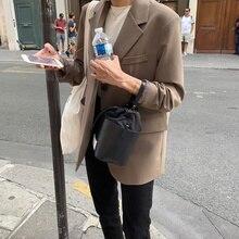 Overcoat Women Coffee Suit Coat Women's Spring and Autumn High Sense 2021 Early Autumn Women's Korea