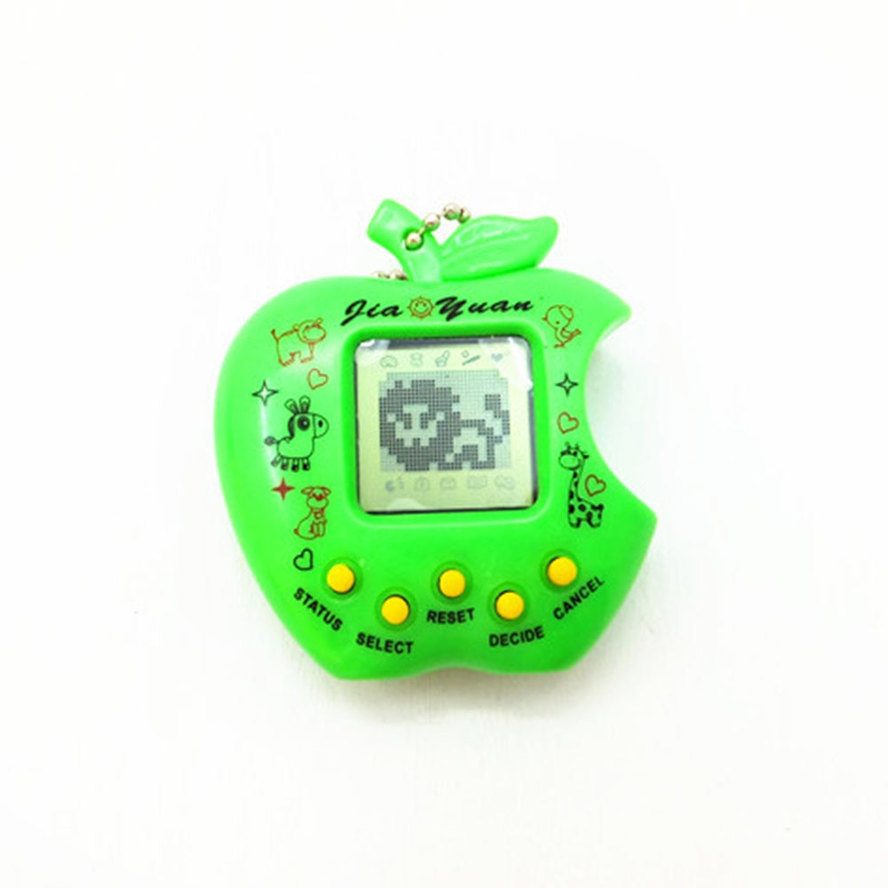 Virtual Cyber Digital Pets Electronic Tamagochi Pets 168 pet in 1 Funny Toys Handheld Game Machine F